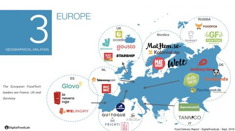 Europe - delivery - mapping - DigitalFoodLab