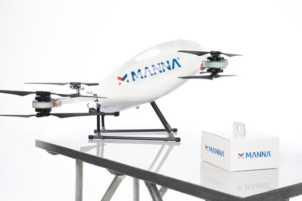 Manna drones